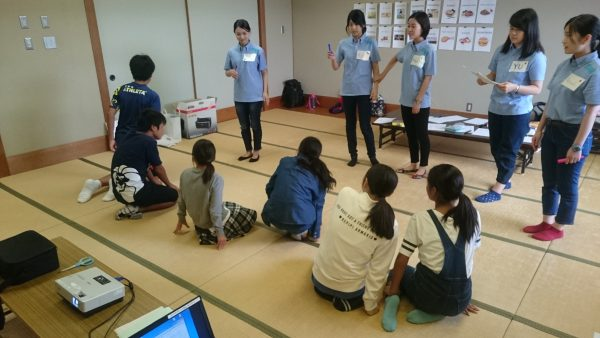 English Camp for elementary school students in Nagomi Town